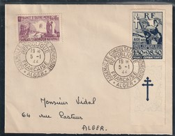 Algérie - Lettre De L Assemblée Consultative Provisoire  Cachet + Colonie Générale Rare - Algerien (1924-1962)