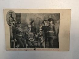 AK  RUSSIA  MONTENEGRO  CRNA GORA  LA MISSION MILITAIRE RUSSE A MONTENEGRO  1917. - Russland