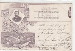Attenhofer - Musik-AK V Verlag Gebrüder Hug - 1899  (P-123-60821) - Musique Et Musiciens