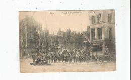 LIEGE PLACE DE L'UNIVERSITE (SOLDATS ALLEMANDS) 1914 - Luik