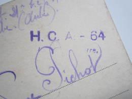 1919 MAGDEBURG TRES RARE Cachet Militaire HCA 64 (Hôpital Complémentaire D'armée 64) Le Vaguemestre à ARCIS Sur AUBE - France