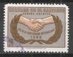 Salvador, El 1965. Scott #759 (U) ICY Emblem * - Salvador