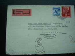 """SUISSE : Pli Censuré Et Ouvert Par Les Services Allemands """"oberkommando Der Wehrmacht En 1942 - Suisse"""