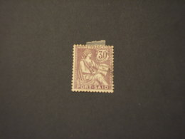 PORT SAID - 1902/20 ALLEGORIA 30 C. - TIMBRATO/USED - Used Stamps