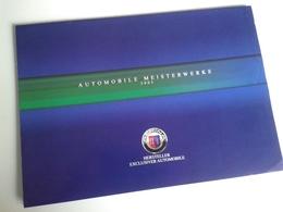 Dep041 Advertising Depliant Brochure Alpina Burkard Bovensiepen Casa Automobilistica BMW Tuning Sport Auto Car Engine - Automobili