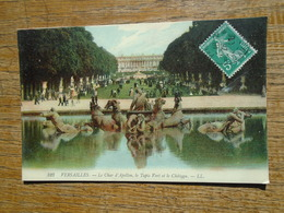 Versailles , Le Char D'apollon , Le Tapis Vert Et Le Château - Versailles (Château)