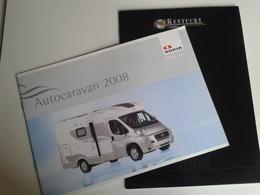 Dep042 Depliant Pubblicità Advertising Autocaravan Camper Adria Camping Campeggio Natura Fiat - Camping