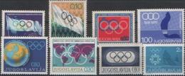 OLYMPIC YUGOSLAVIA MNH - Olympische Spelen