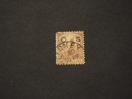 GALLES - SERVIZIO O S ....... CANGURO 1 SH. -  TIMBRATO/USED - 1850-1906 New South Wales