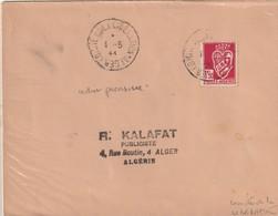 Algérie - Lettre ,cachetcomité De La Libération - Algeria (1924-1962)
