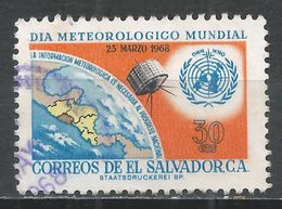 Salvador, El 1968. Scott #782 (U) World Meteorological Day * - Salvador