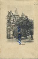 Kapellen - Capellen : Villa Gerok: Attelage Chien : Verkoper  ( HOELEN 20 )   ( Geschreven 1902  Met Zegel   ) - Kapellen