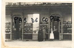 CHAMPIGNY SUR MARNE PATISSERIE FOUQUET 31 ROUTE DE JOINVILLE ( ROGER SALENGRO) - SUPERBE CARTE PHOTO - Champigny Sur Marne