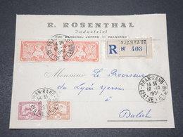 INDOCHINE - Enveloppe Commerciale En Recommandé De Phan - Rang Pour Dalat En 1951 - L 15626 - Indocina (1889-1945)