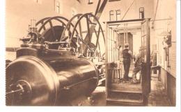Métier-Mineur-Région De Charleroi (Hainaut-Belgique)-Charbonnage-Mines-Vue Arrière D'une Machine D'extraction-+/-1910 - Mines