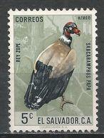 Salvador, El 1963. Scott #C200 (M) Bird, King Vulture * - Salvador