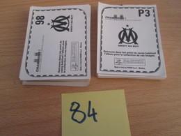 A 3 Cts Pièce !!! LOT DE 62 IMAGES  PANINI NEUVES OLYMPIQUE DE MARSEILLE (inclus Des Doubles) - Panini