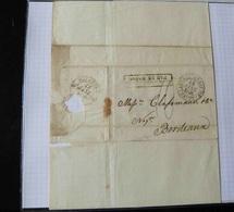 LETTRE   DE  NEW ORLEANS  POUR BORDEAUX   LE 19 NOVEMBRE 1935 - 1801-1848: Voorlopers XIX