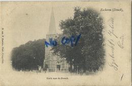Eeckeren - Ekeren :  DONCK : Kerk Aan De Donck - HOELEN Kapellen 101  ( Geschreven 1902 Met Zegel  ) - Belgique