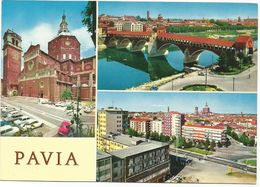 X1335 Pavia - Panorama Vedute Multipla / Non Viaggiata - Pavia