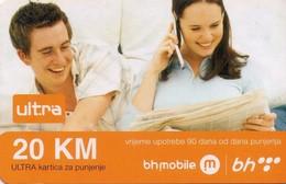 TARJETA TELEFONICA DE BOSNIA Y HERZEGOVINA (PREPAGO). (536) - Bosnia