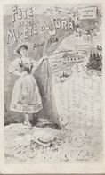 Fete De La Mi-été Du Jura Aout 1908 - VD Vaud