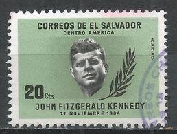 Salvador, El 1964. Scott #C212 (U) Pres. John F. Kennedy * - Salvador