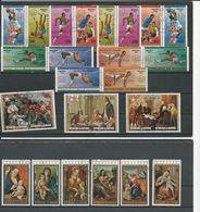 BURUNDI  3 Séries Complètes Oblitérées (26)  O Cote 24,00 $ 1976 - Burundi