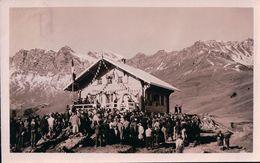 Champéry, Inauguration De La Cabane Du Ski Club Le 3.11.1935 (18.11.35) - VS Valais
