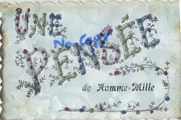 Hamme Mille : Une Pensée ( Ecrit 1908 Avec Timbre ) - Belgique