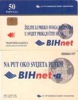 TARJETA TELEFONICA DE BOSNIA Y HERZEGOVINA. (505) - Bosnia