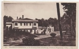 ANGLET - Biarritz - Le Country-club - LL 515 - écrite 1957 - Tbe - Golf De Chiberta - Anglet