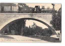 CPA 91 Etampes Le Pont De Beaune La Rolande Et Le Train - Etampes