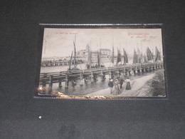 BLANKENBERGHE - LE PORT DES PECHEURS - Ed.V.O.-Postée 1905 - Blankenberge