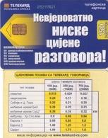 TARJETA TELEFONICA DE BOSNIA Y HERZEGOVINA. (509) - Bosnia