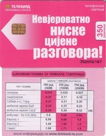 TARJETA TELEFONICA DE BOSNIA Y HERZEGOVINA. (510) - Bosnia