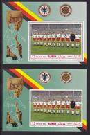 AJMAN AERIENS ** MNH Neufs Sans Charnière, 2 Blocs Dentelé & ND, TB (CLR255) Coupe Du Monde De Football à Mexico - Ajman