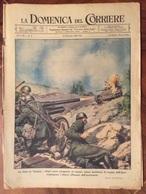 LA DOMENICA DEL CORRIERE  DEL  31/1/1943  LA RIVISTA E'  COMPLETA - Guerra 1939-45