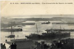 62 BOULOGNE-SUR-MER - Vue D'ensemble Du Bassin De Marée - Très Bon état - Boulogne Sur Mer