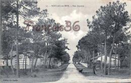 (33) Soulac Sur Mer - Rue Avenue - 1906 - 2 SCANS - Soulac-sur-Mer