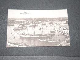 MALTE - Carte Postale - Fleet In The Harbour L 15673 - Malte