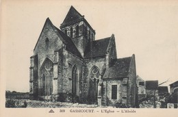 Gussicourt - L' Eglise - L' Abside - Guyancourt