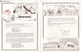ASTERIX : Lettre ROMBALDI - Objets Publicitaires