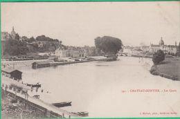 53 - Chateau Gontier - Les Quais - Editeur: Malicot N°341 - Chateau Gontier