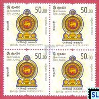 Sri Lanka Stamps 2018, Revenue, MNH - Sri Lanka (Ceylon) (1948-...)
