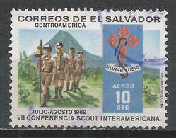 Salvador, El 1968. Scott #C249 (U) Scouts Hiking * - Salvador