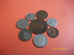 Lot De 8 Pièces De Monnaie EUROPE - Monnaies