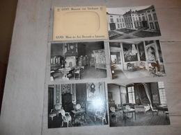 Gand  Gent   Omslag Met 10  Zichtkaarten - Museum Van Sierkunst - Gent