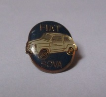 Pin's Automobile / Fiat Sova (époxy épais) - Fiat