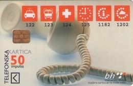 TARJETA TELEFONICA DE BOSNIA Y HERZEGOVINA. (515) - Bosnia
